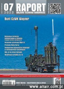 Raport - Wojsko - Technika - Obronność - miesięcznik - prenumerata kwartalna już od 9,90 zł