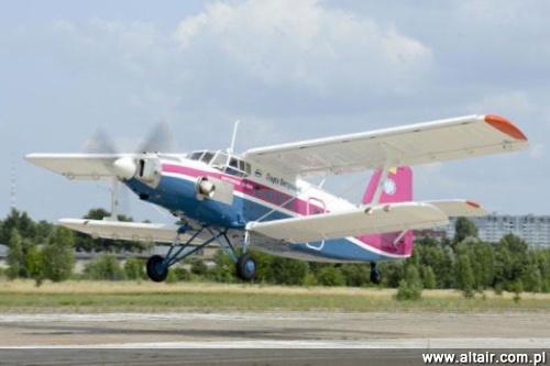 An-2-100 podczas pierwszego lotu / Zdjęcie: Biuro im. Antonowa