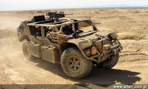 Samochody terenowe używane wojskowe