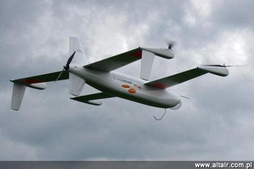les UAV (drones) Quadcruiser-airbus