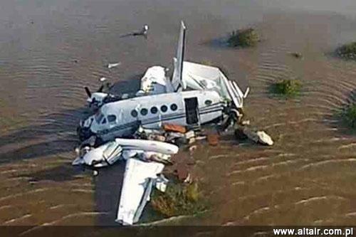 Crash d'avions Militaire étrangers Kingair-laplata