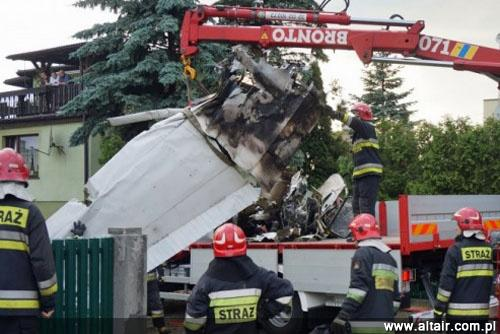 Crash d'avions Militaire étrangers Cessna-bielsko
