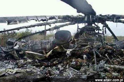 Crash d'avions Militaire étrangers Mi8ukraina
