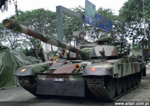 Malezyjski PT 91M Zdjcie Ayam Goreng