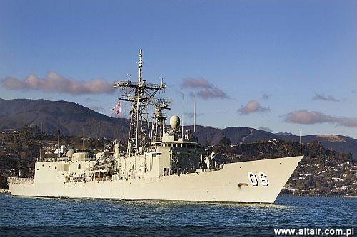 be01569968a13 Marynarka Wojenna RP, która obecnie eksploatuje 2 ex amerykańskie fregaty  rakietowe typu OHP, mogłaby