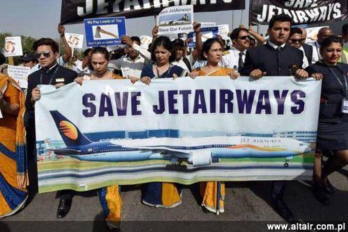 Strajk Pilotów Jet Airways