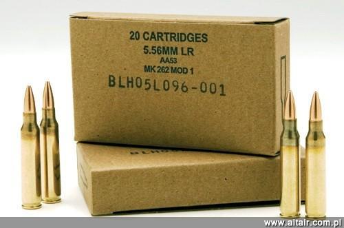 Mk 262 ammunition butik work