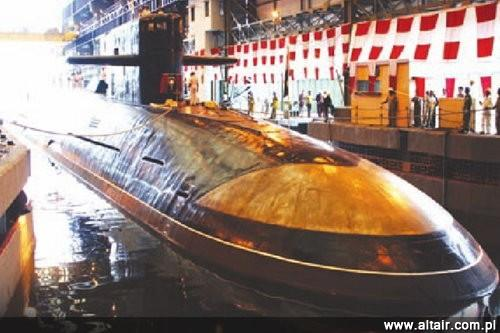 INS Arihant w doku Hindustan Shipyard Limited / Zdjęcie: Indian Defence Board