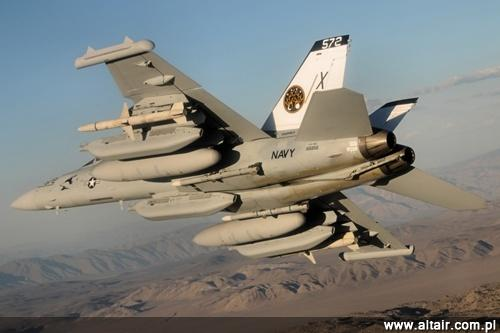 Boeing EA-18G Growler z US Navy Naval Air Warfare Center Weapons Division / Zdjęcie: US Navy