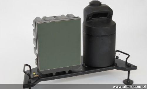 Zestaw obserwacyjny UGF (Unattended Gap Filler) z kamer? pola walki (MUGI) oraz radarem taktycznym