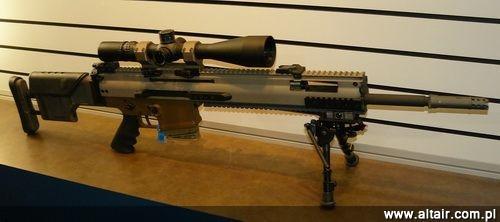 Program SOCOM13-005 ma na celu opracowanie nabojów do broni u?ywanej przez jednostki specjalne: karabinów Mk 17 Mod 1, Mk 20 Mod 0 (na zdj?ciu) i przysz?ego karabinu wyborowego PSR (Precision Sniper Rifle) / Zdj?cie: Remigiusz Wilk