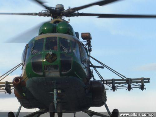 Europejska premiera GI M134G miała miejsce w 2008 na paryskiej wystawie Eurosatory. Pierwszym zagranicznym odbiorcą była Gruzja, która używa tej konstrukcji na śmigłowcach Mi-8 (na zdjęciu), jak również na samochodach opancerzonych Didgori / Zdjęcie: Garwood Industries