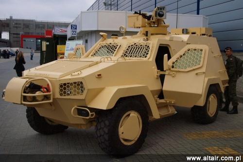 """На выставке в Чехии представили новый украинско-польский бронеавтомобиль """"Онцилла"""" - Цензор.НЕТ 5517"""